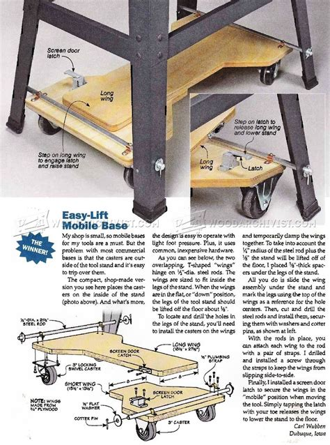 Mobile Tool Base Diy