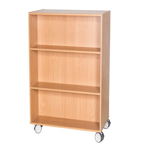 Mobile-Double-Bookcase-Plans