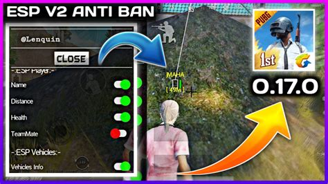 Mod Menu For PUBG