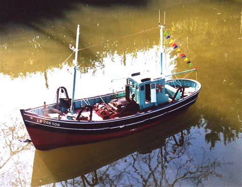 Model Fishing Boat Book Plans