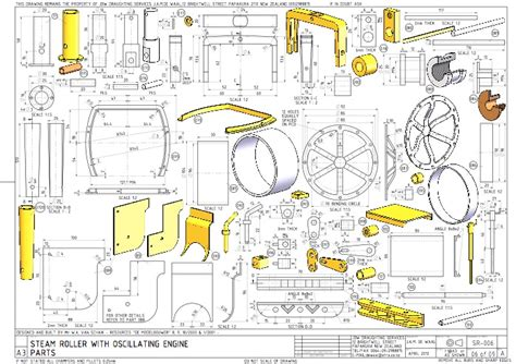 Model Steam Engine Plans Metric