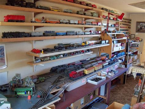 Model Train Display Shelf Plans