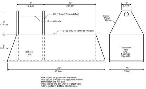Model-Airplane-Field-Box-Plans