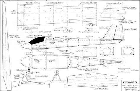 Model-Airplane-Glider-Plans
