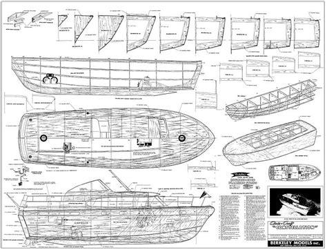 Model-Chris-Craft-Plans