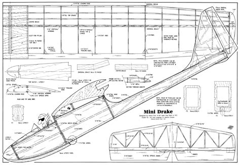 Model-Glider-Plans-Free-Download