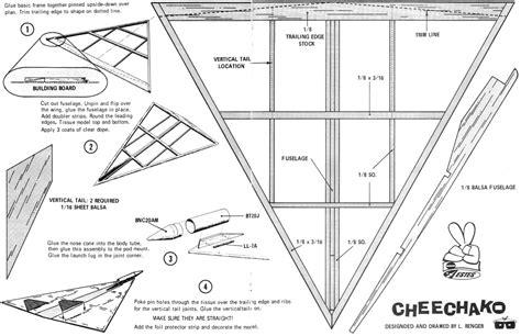 Model-Rocket-Glider-Plans