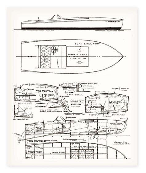 Model-Wooden-Speed-Boat-Plans