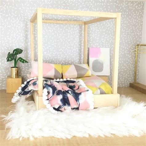 Modern Barbie Bed Diy