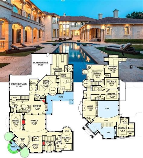Modern Castle Home Floor Plans