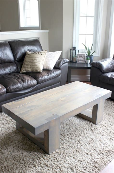 Modern Coffee Table Plans