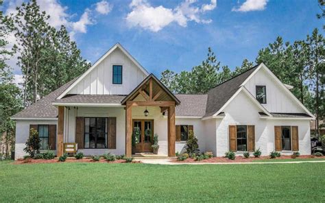 Modern Country Farmhouse Plans