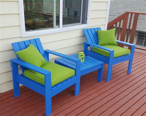 Modern Deck Chair Plans