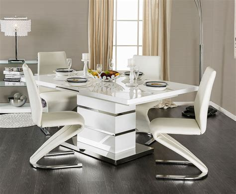 Modern Dining Table For Four With Chairs