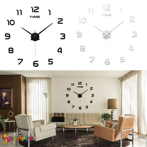 Modern Diy Large Wall Clock