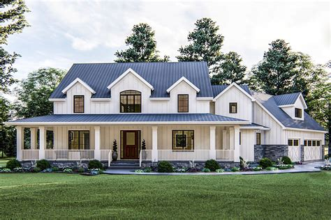 Modern Farmhouse Plans With Garage