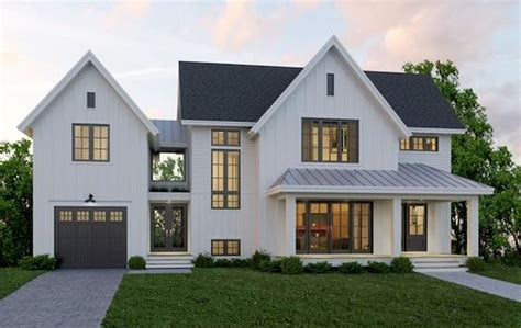 Modern Farmhouse Style Home Plans