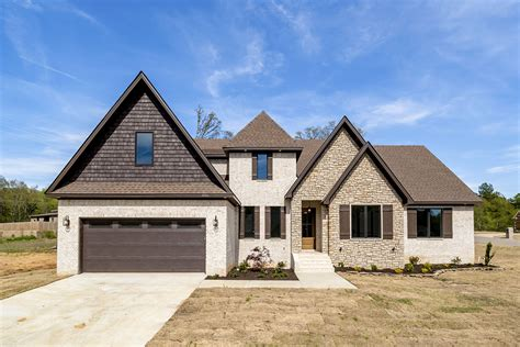 Modern French Farmhouse Plans