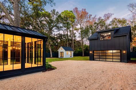 Modern House Plans With Detatched Garage