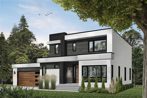 Modern House Plans With Terrace