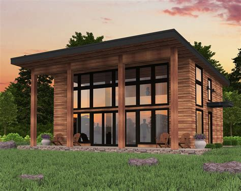 Modern Lean To House Plans
