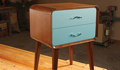 Modern Nightstand Woodworking Plans