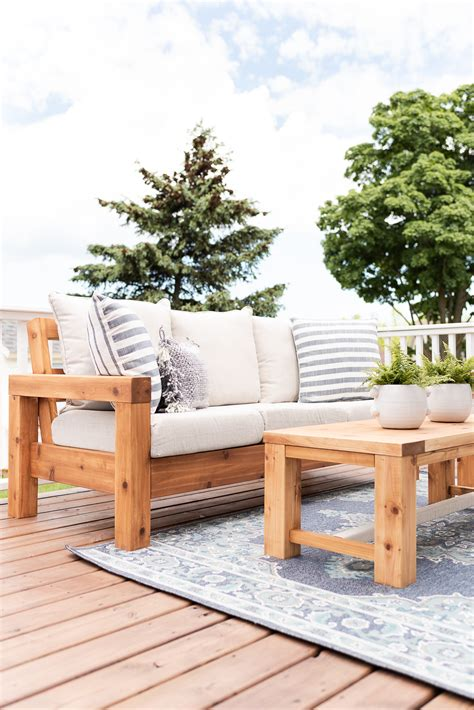 Modern Outdoor Furniture Diy Plans