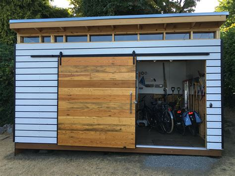 Modern Outdoor Shed Plans