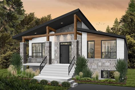 Modern Rustic House Plans And Story 1 2