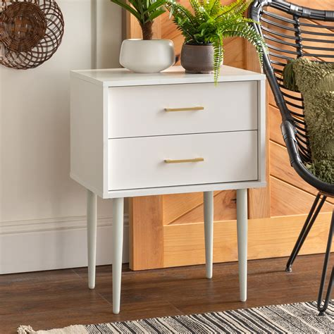 Modern Side Table With Drawer Plans