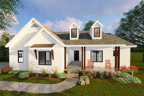 Modern Small Barn House Plans