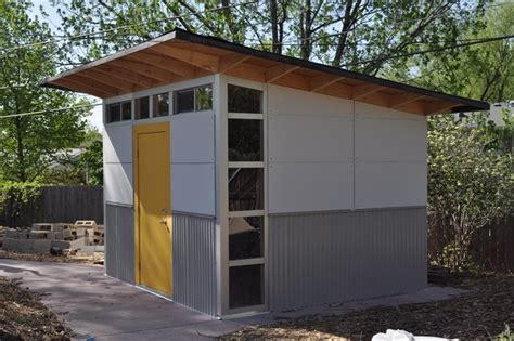 Modern Storage Shed Plans 10x12