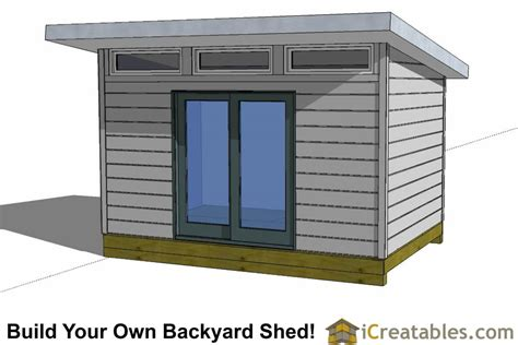 Modern Storage Shed Plans Free