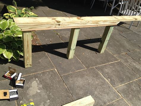 Modern Table Base Diy 4x4