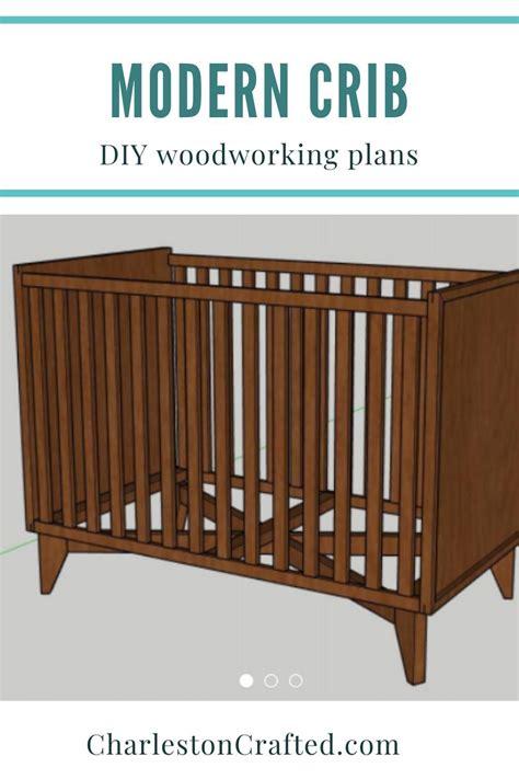 Modern-Crib-Woodworking-Plans