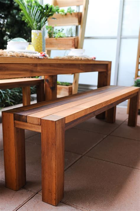 Modern-Dining-Table-Bench-Plans