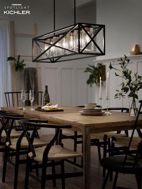 Modern-Farmhouse-Dining-Table-Light