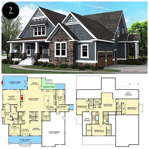 Modern-Farmhouse-Floor-Plans-Architectural-Designs