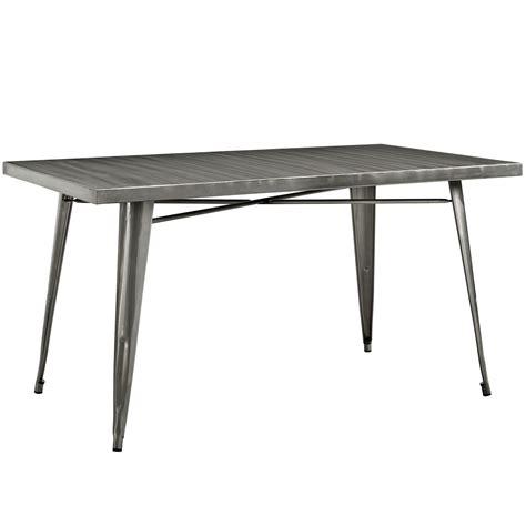 Modern-Farmhouse-Metal-Dining-Table