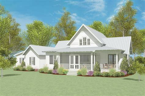 Modern-Farmhouse-Plans-With-Attached-Garage