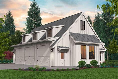 Modern-Farmhouse-Plans-With-Detached-Garage