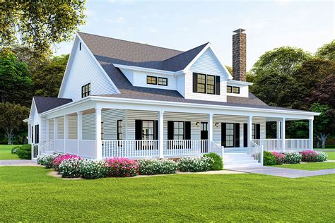 Modern-Farmhouse-Plans-With-Wrap-Around-Porch