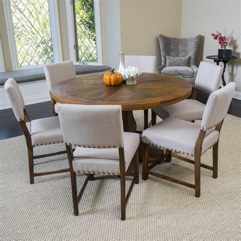 Modern-Farmhouse-Round-Dining-Table