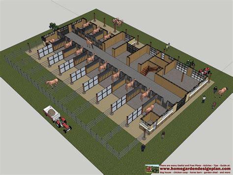 Modern-Horse-Barn-Plans
