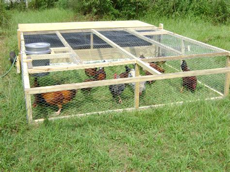 Modular Chicken Run Plans