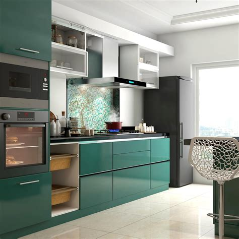 Modular Kitchen Designs For Small Kitchens In India