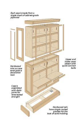 Modular-Bookshelf-Plans