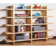 Best Modular bookcase building plans