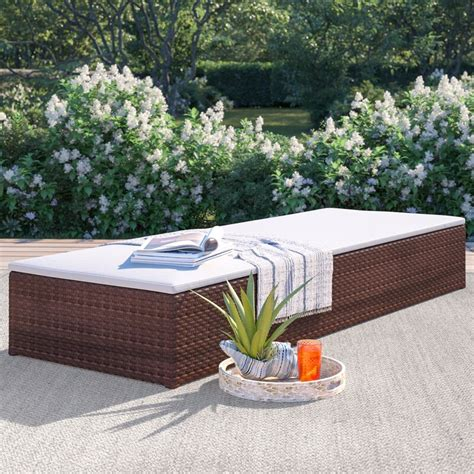 Mokane Chaise Lounge With Cushion (Set Of 2) By Beachcrest Home