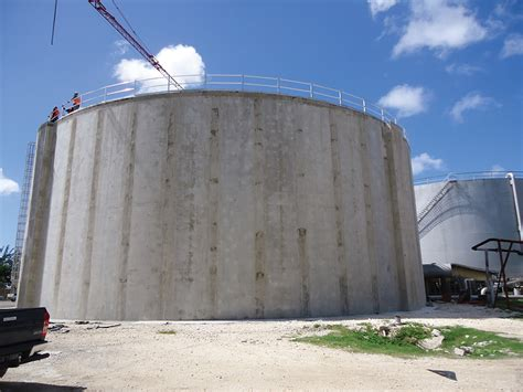 Molasses Tank Storage Construction Plans